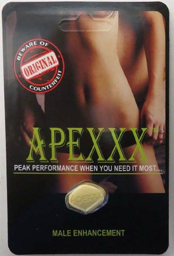 Image of the illigal product: ApeXXX