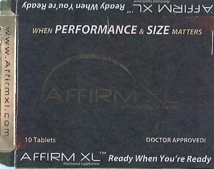 Image of the illigal product: Affirm XL