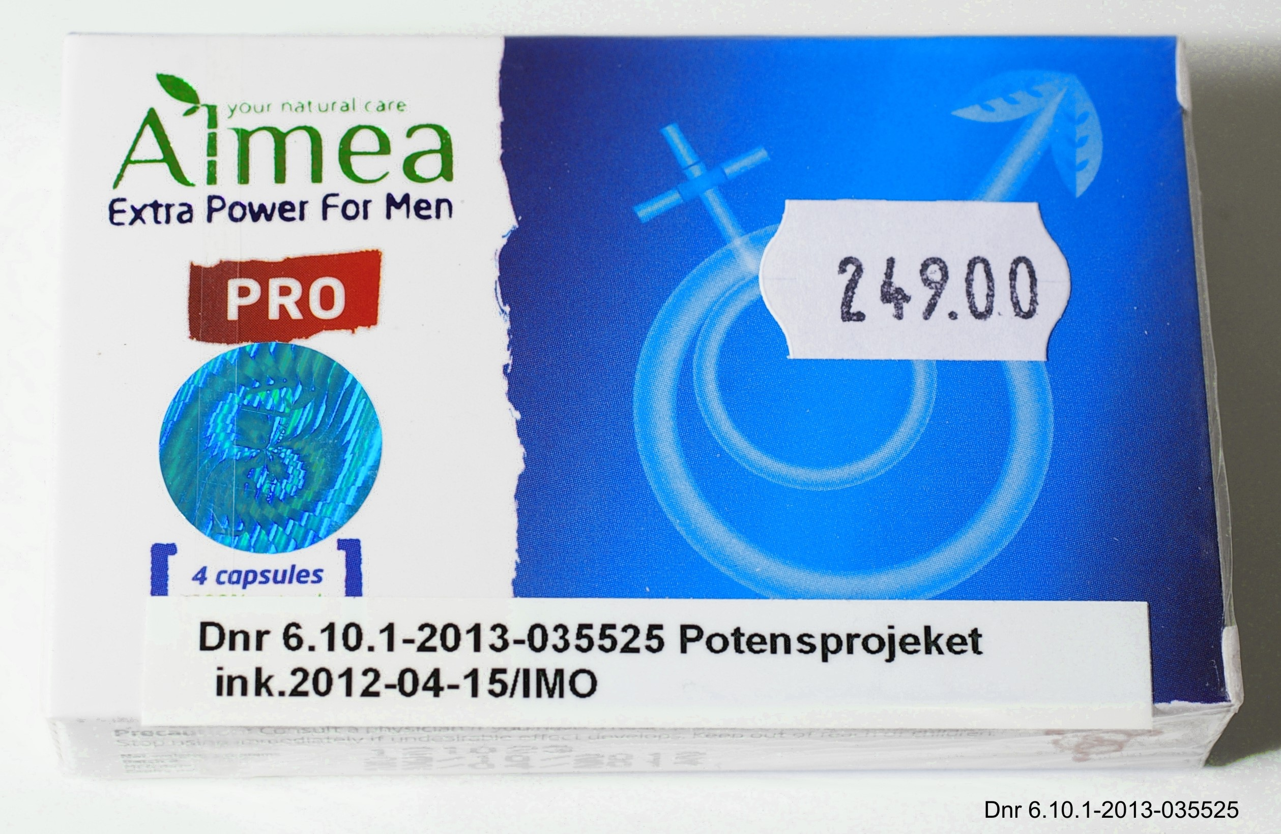 Image of the illigal product: Almea Extra Power for Men