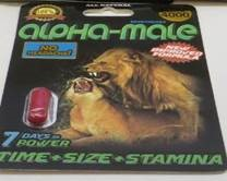Image of the illigal product: Alpha-Male