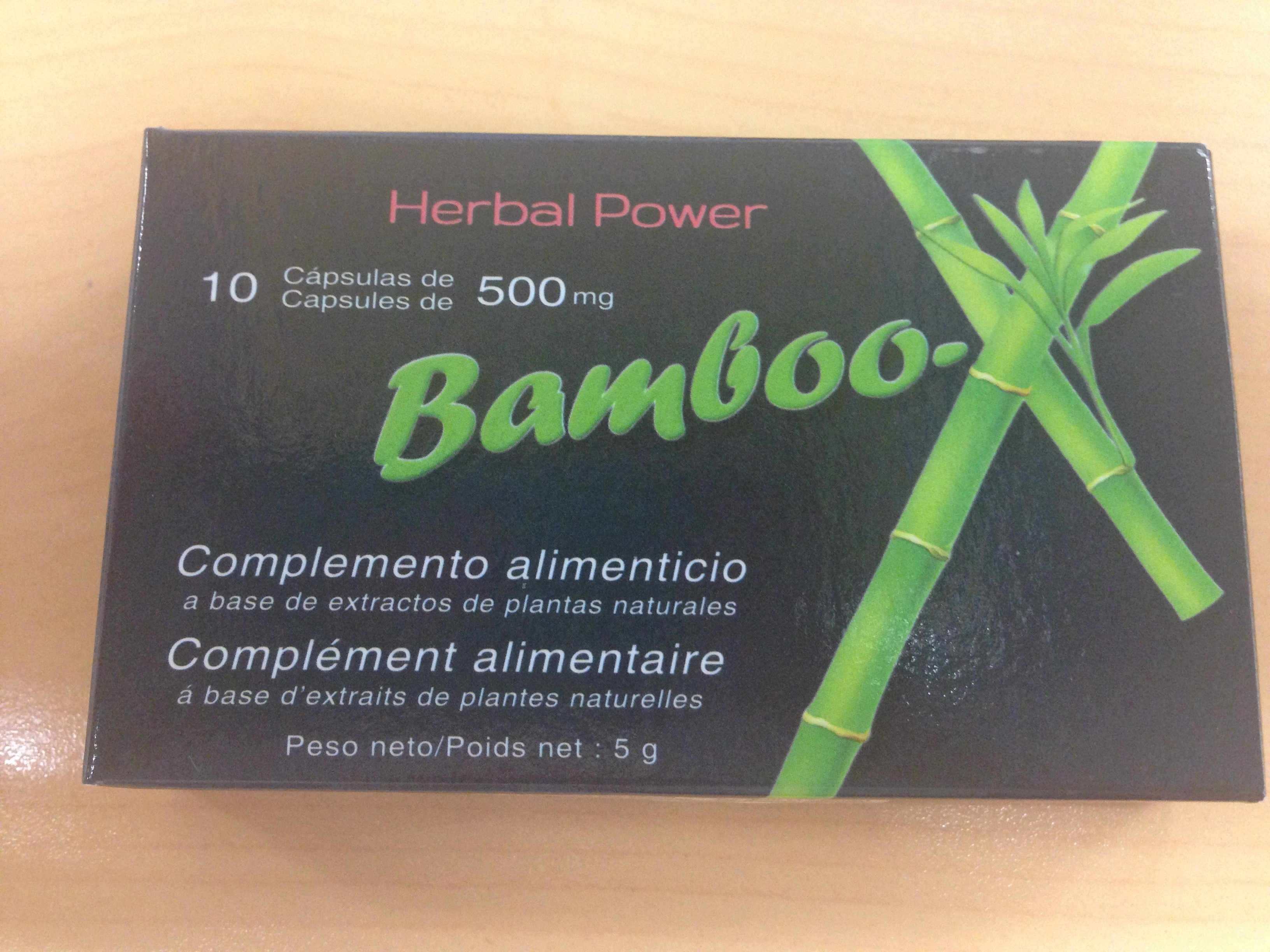 Image of the illigal product: Bamboo-X