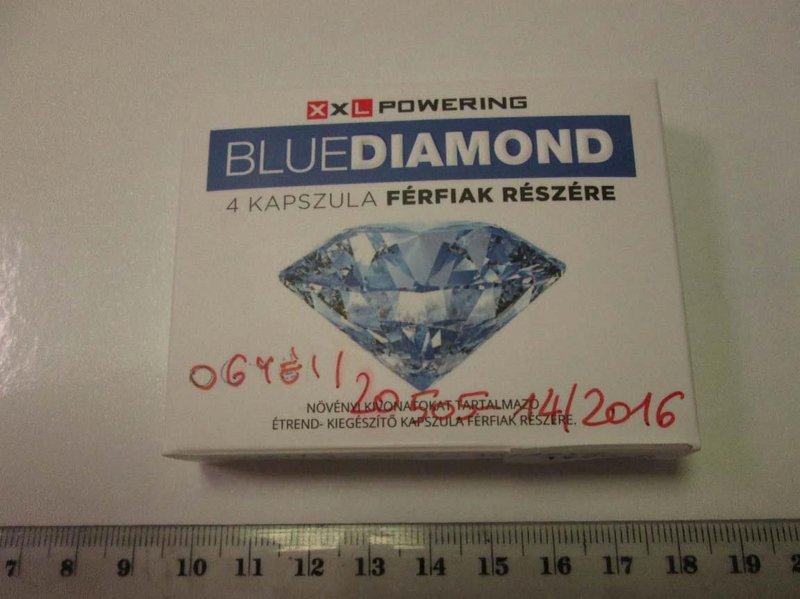 Image of the illigal product: Blue Diamond