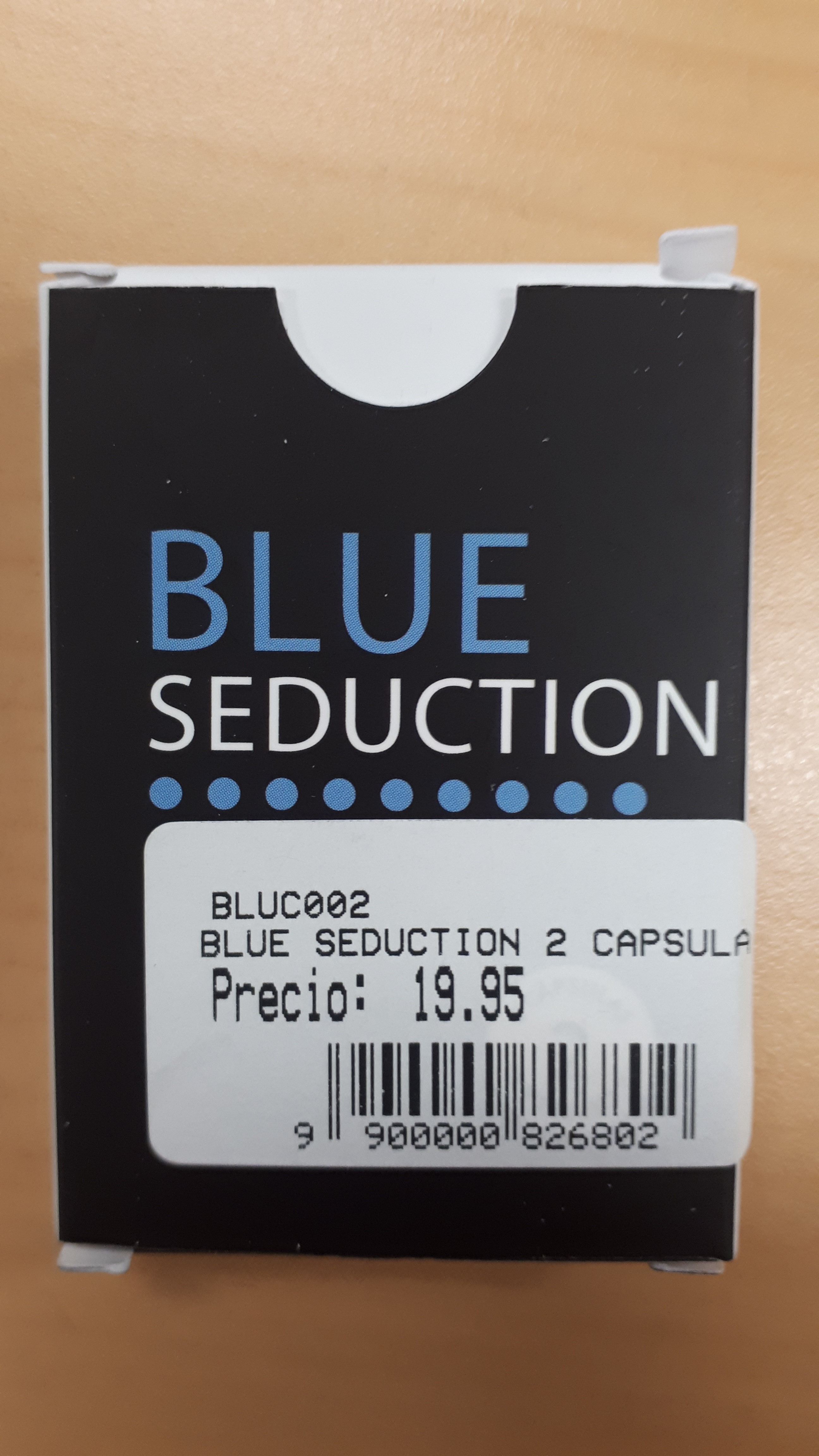 Image of the illigal product: Blue Seduction kapsler