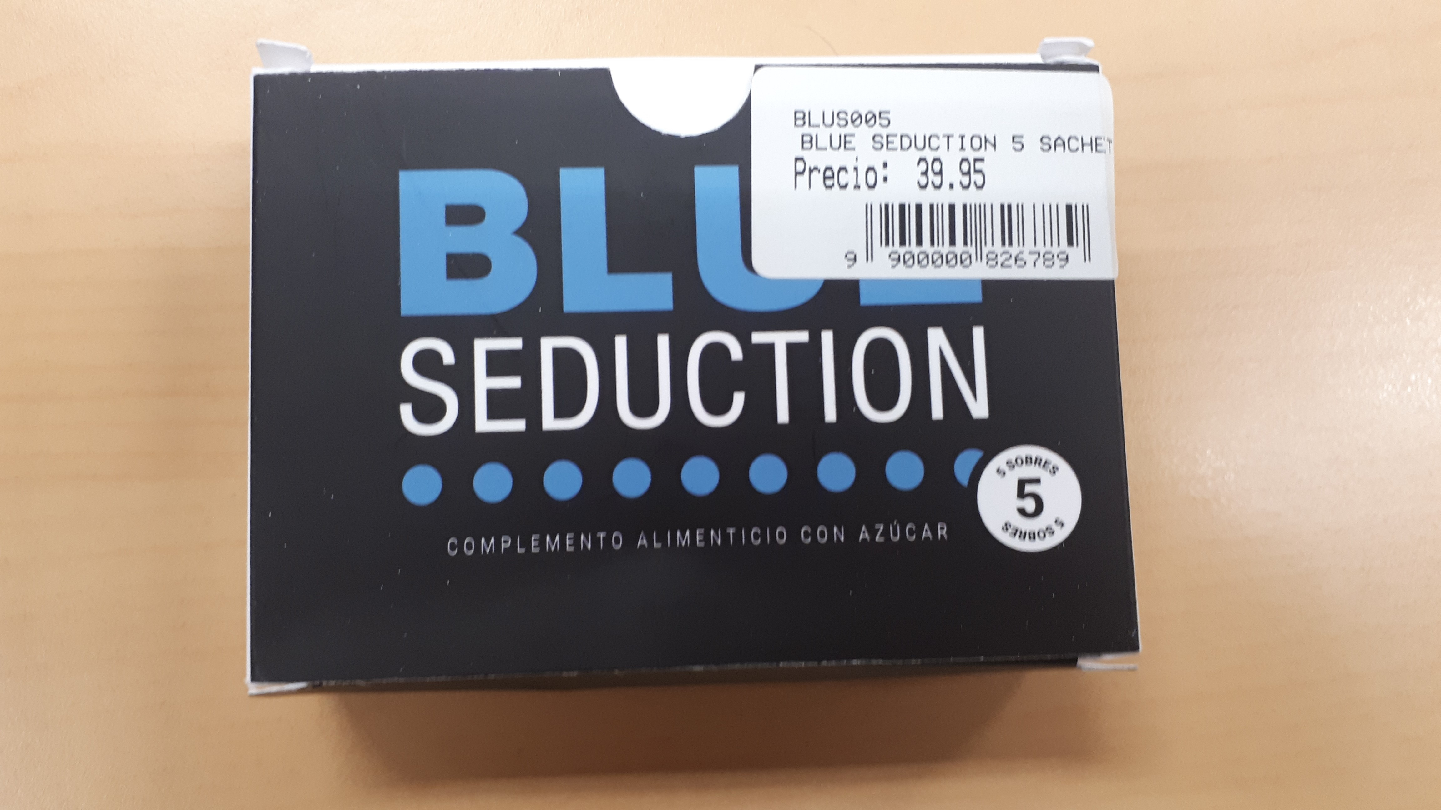Image of the illigal product: Blue Seduction dosispulver