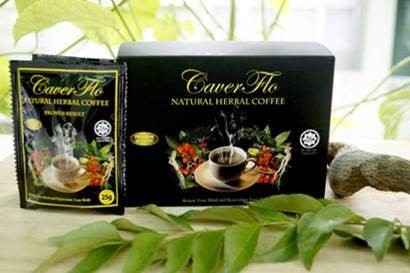 Image of the illigal product: Caver Flo Natural Herbal Coffee