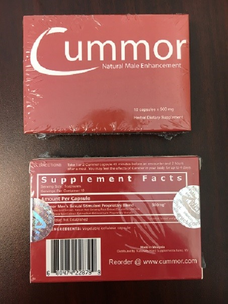 Image of the illigal product: Cummor