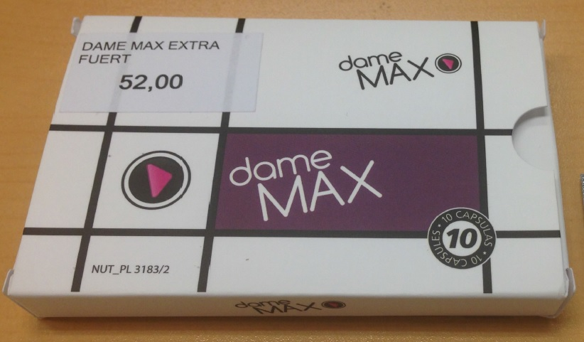 Image of the illigal product: Dame Max