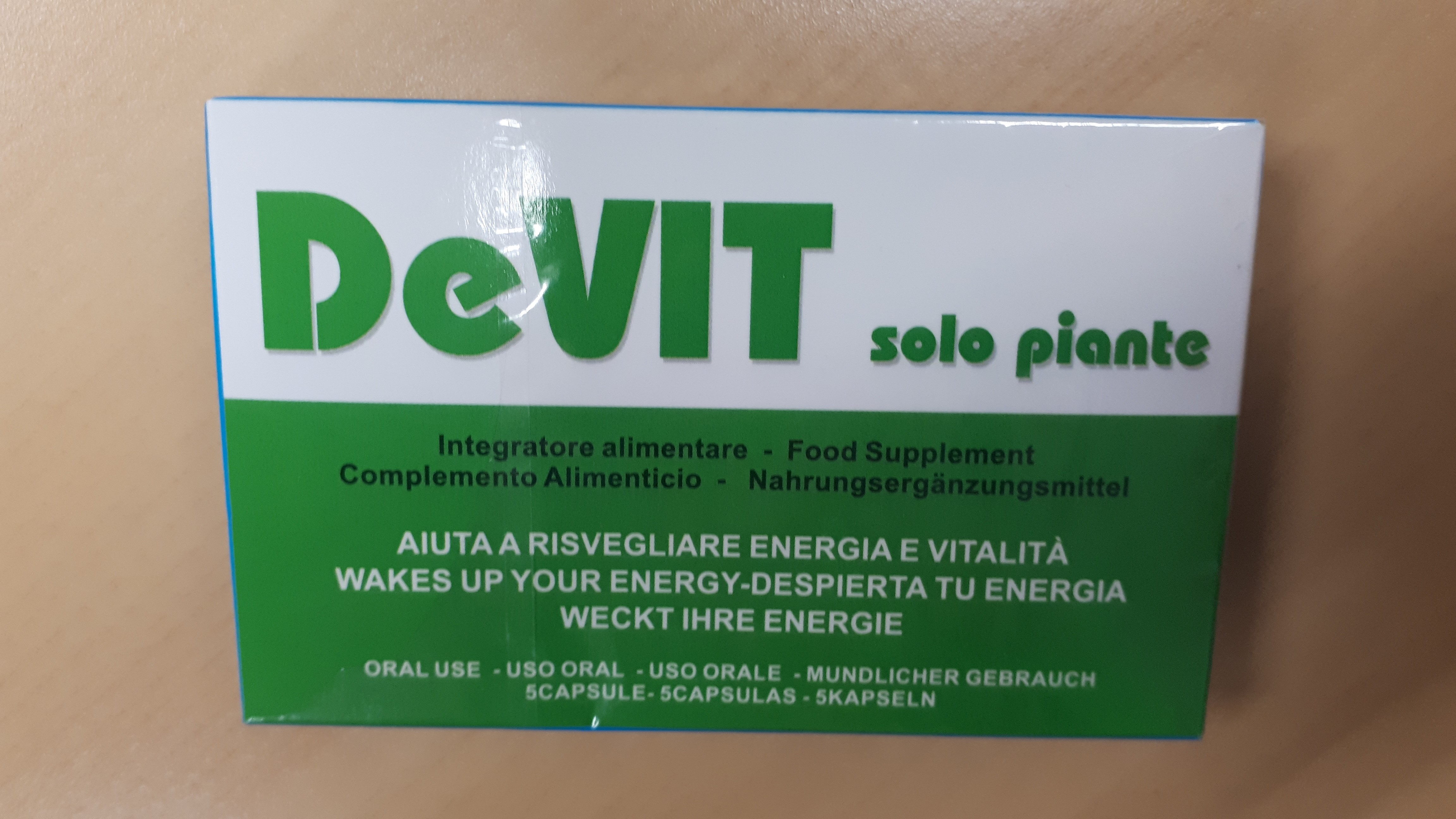 Image of the illigal product: Devit Solo Piante
