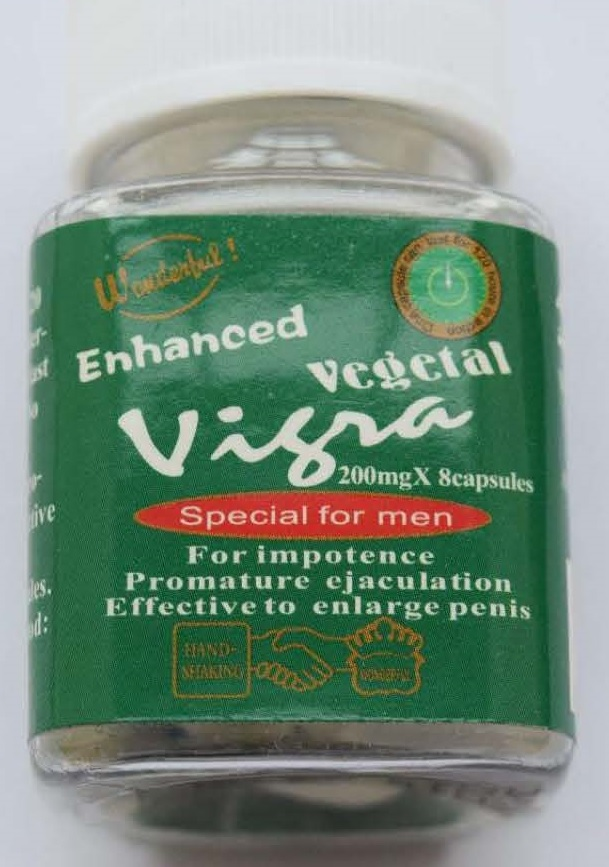 Image of the illigal product: Enhanced Vegetal Vigra