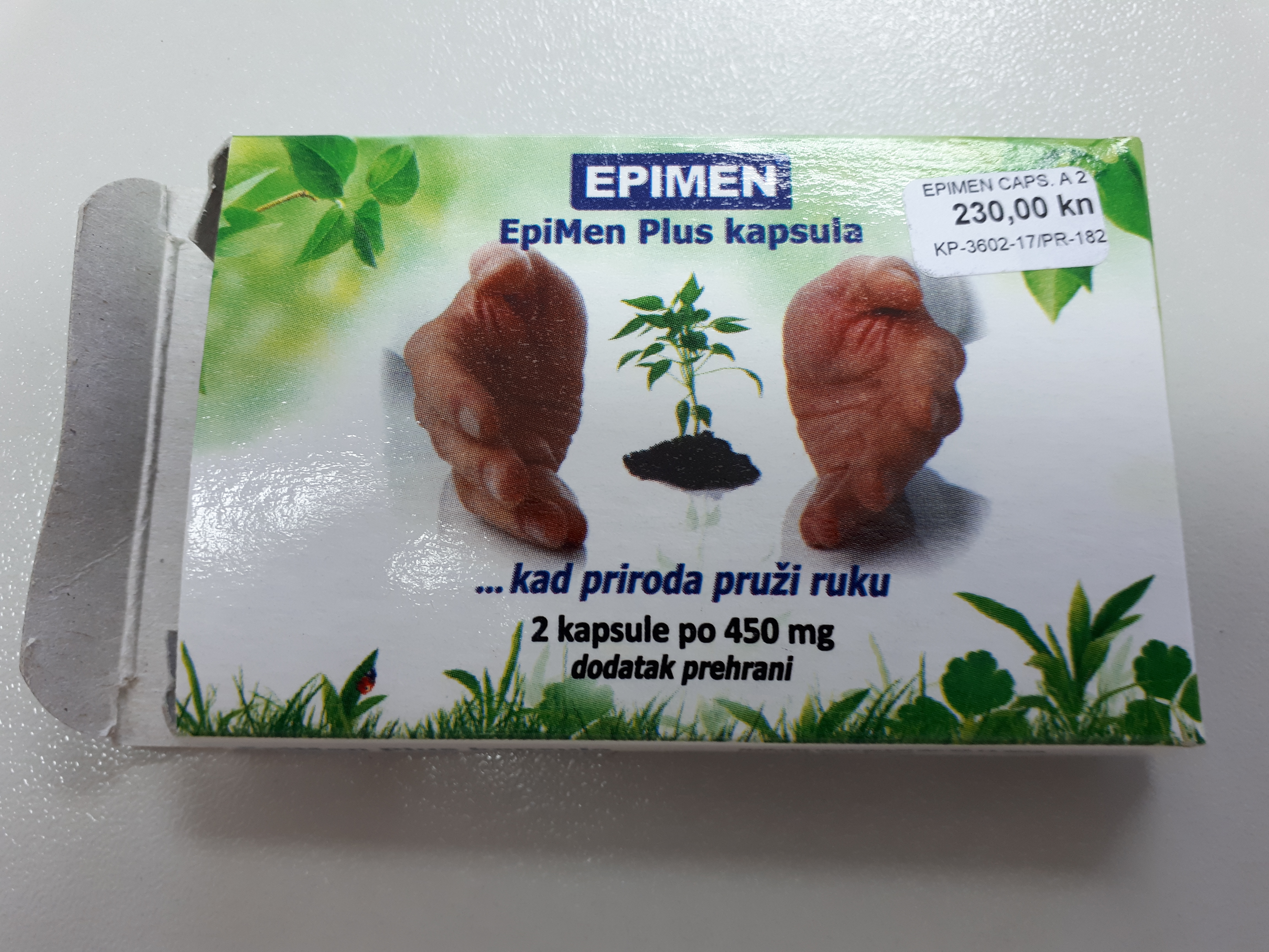 Image of the illigal product: Epimen Plus