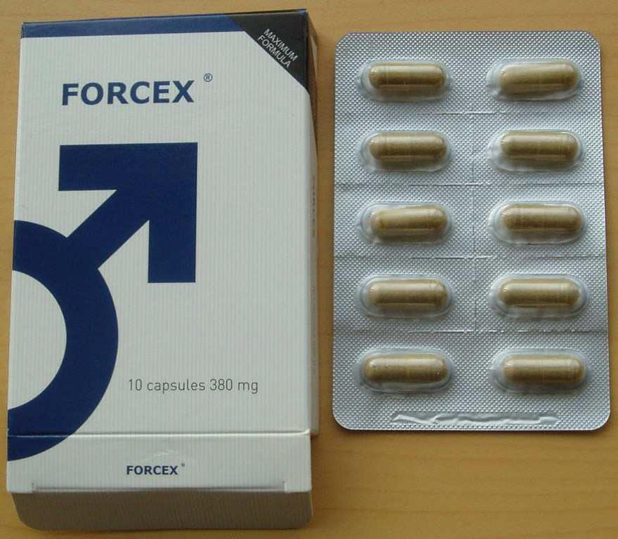 Image of the illigal product: Forcex