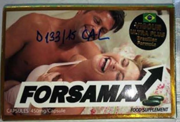 Image of the illigal product: Forsamax