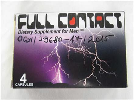 Image of the illigal product: Full Contact