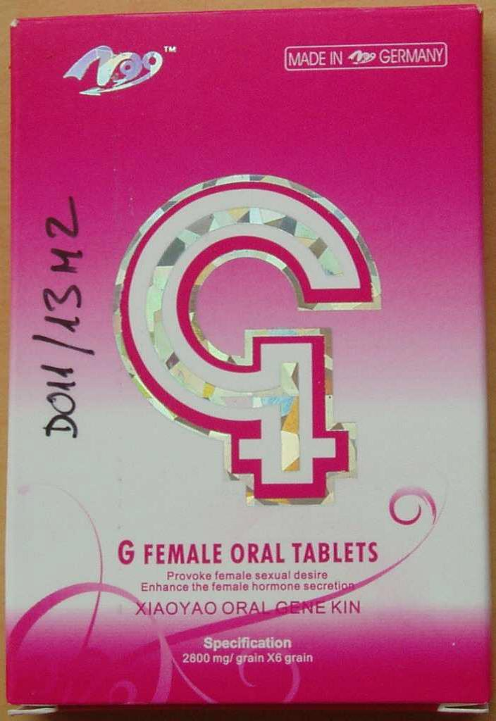 Image of the illigal product: G Female Oral