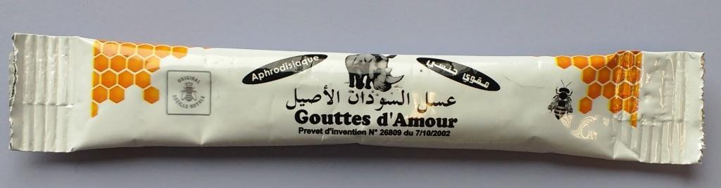 Image of the illigal product: Gouttes d'Amour