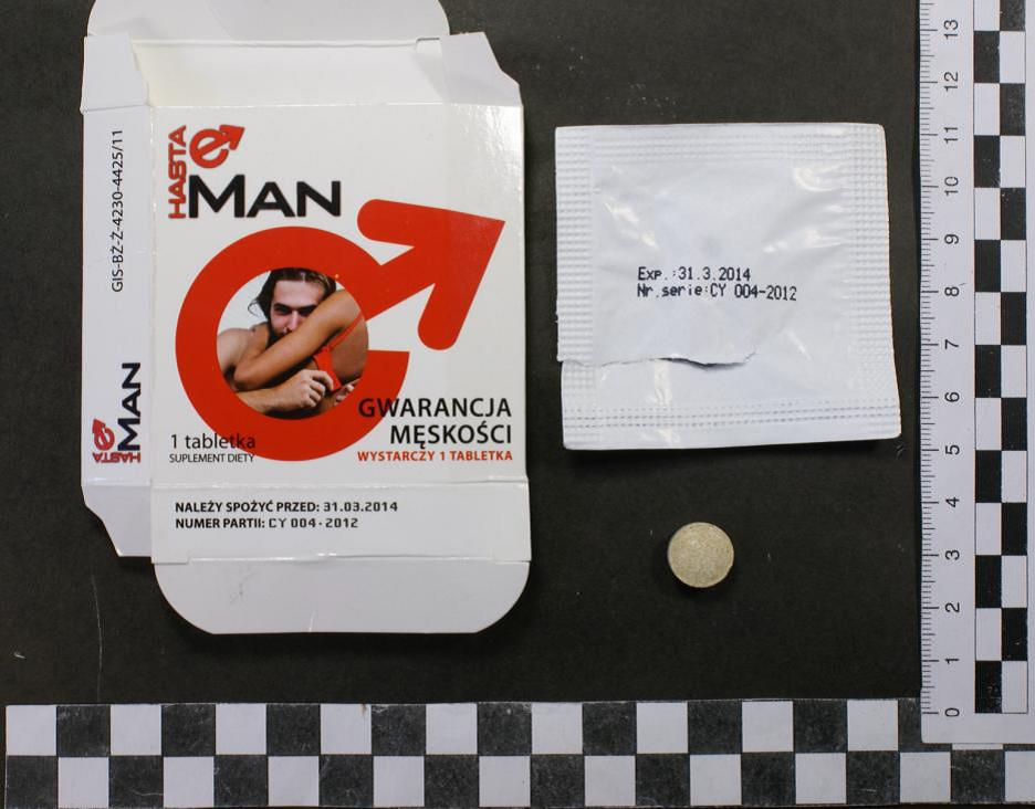 Image of the illigal product: Hasta Man