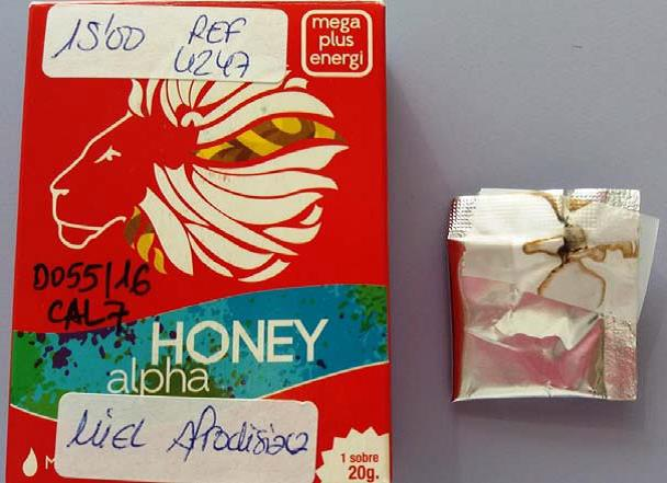Image of the illigal product: Honey Alpha