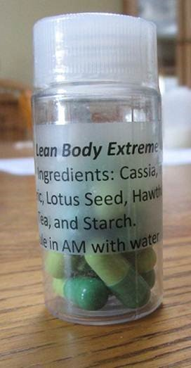 Image of the illigal product: Lean Body Extreme