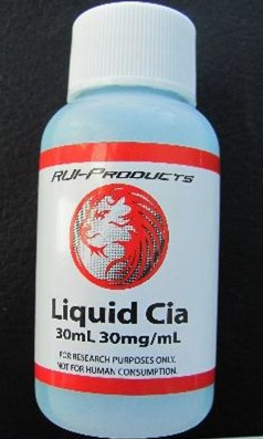 Image of the illigal product: Liquid Cia