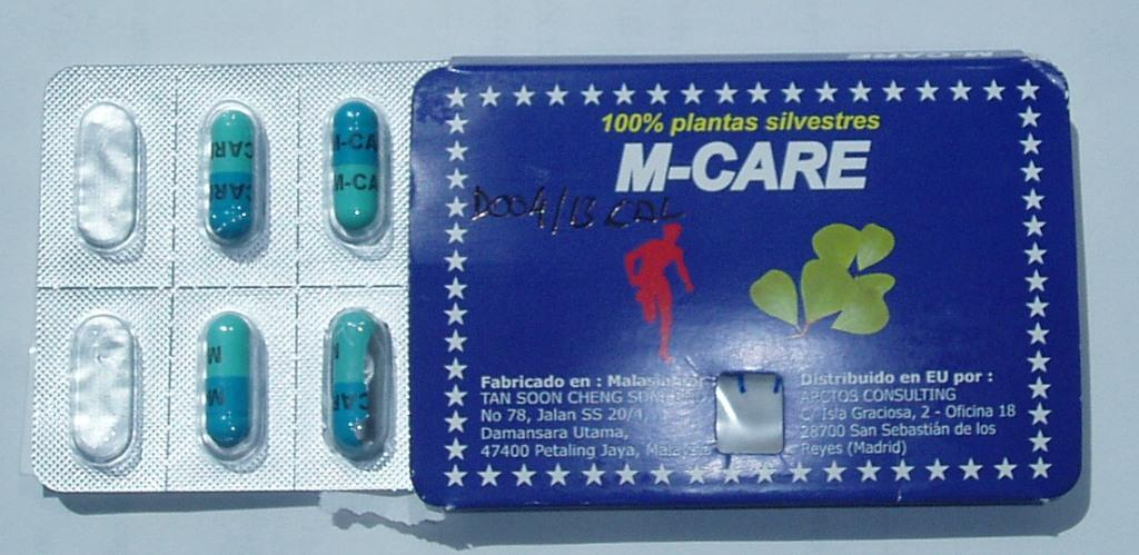 Image of the illigal product: M-Care