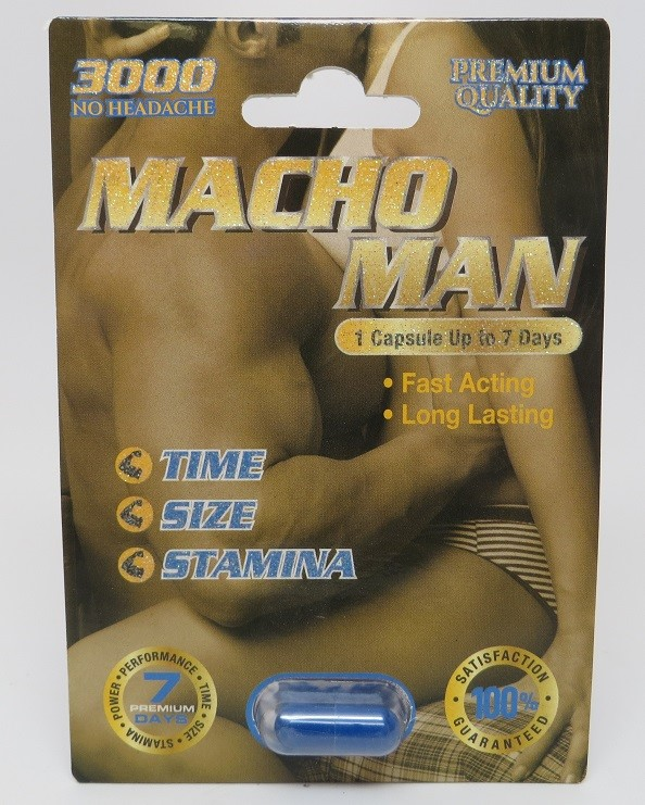 Image of the illigal product: Macho Man 3000