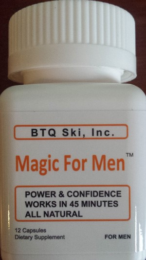 Image of the illigal product: Magic for Men