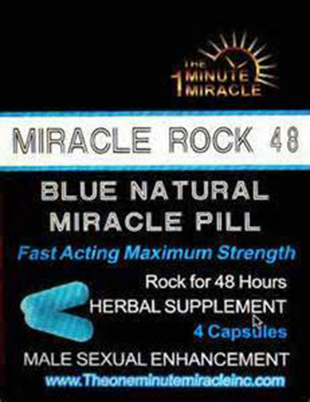 Image of the illigal product: Miracle Rock 48