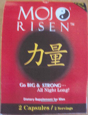 Image of the illigal product: Mojo Risen