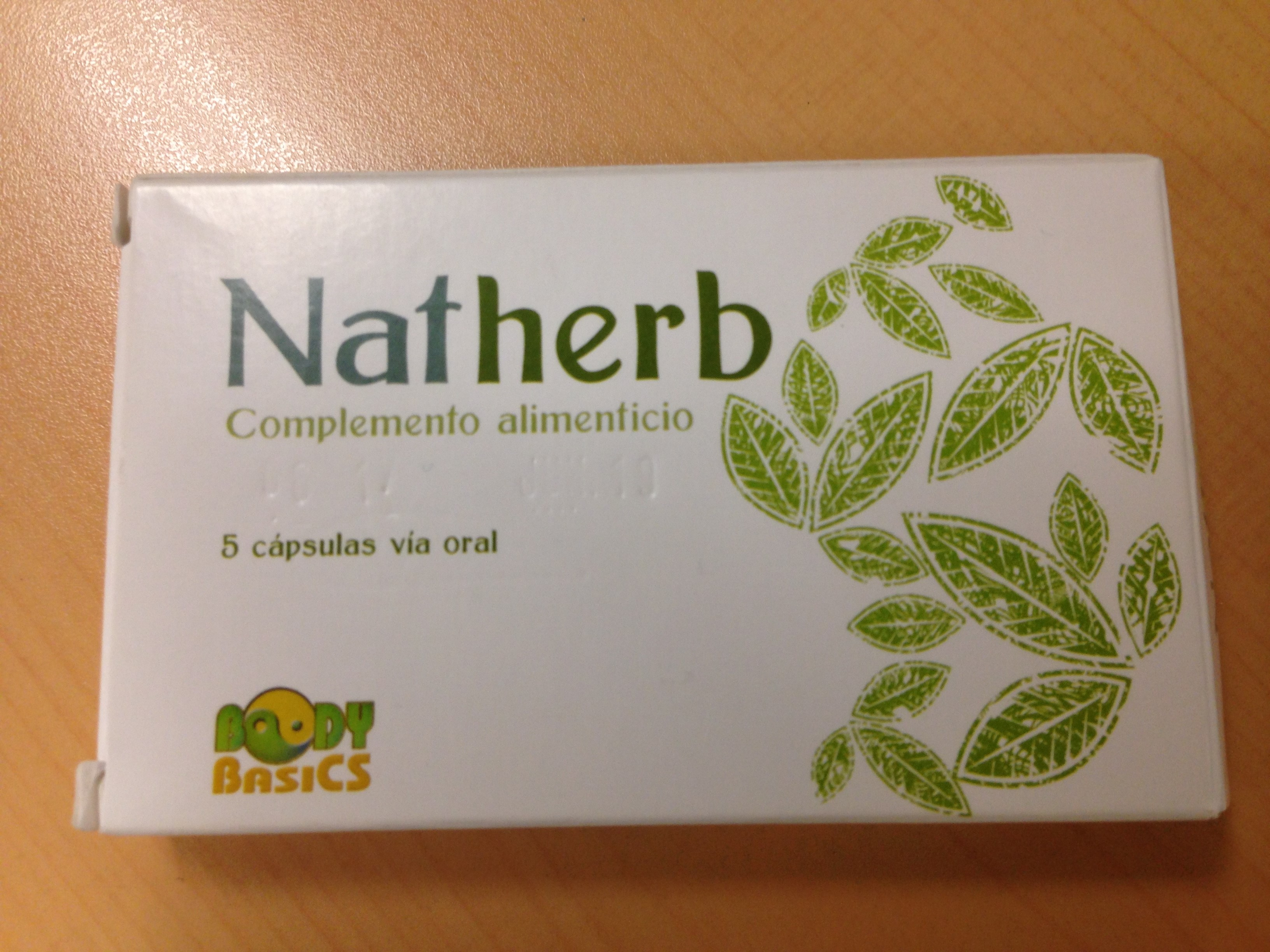 Image of the illigal product: Natherb