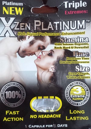 Image of the illigal product: New Xzen Platinum
