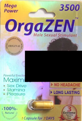 Image of the illigal product: OrgaZen 3500