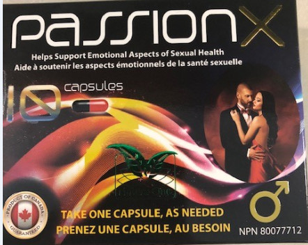 Image of the illigal product: Passion X