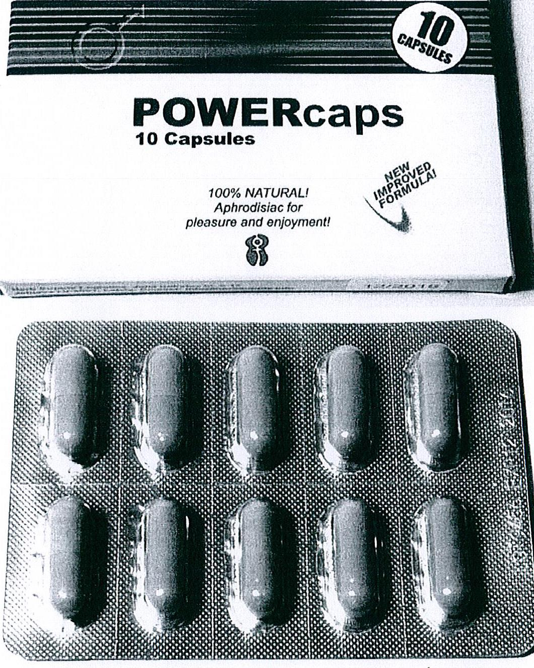 Image of the illigal product: Power Caps
