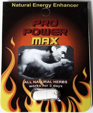 Image of the illigal product: Pro Power Max