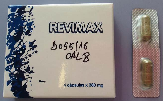 Image of the illigal product: Revimax