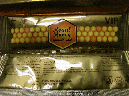 Image of the illigal product: Royal Honey VIP