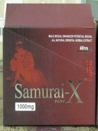 Image of the illigal product: Samurai-X