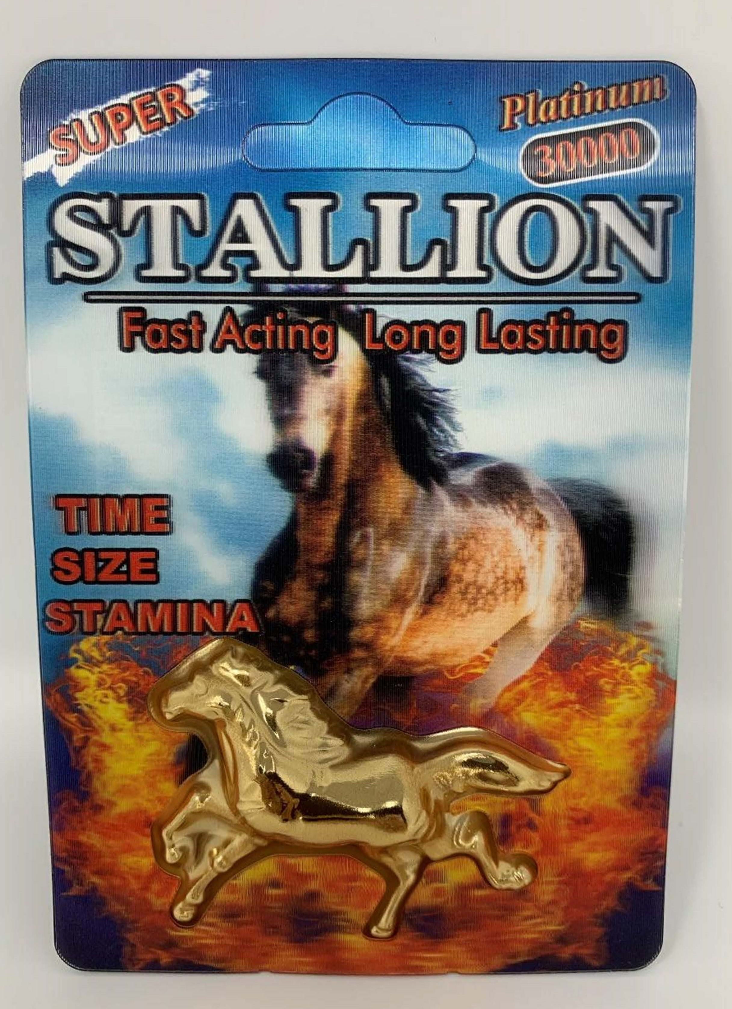 Image of the illigal product: Stallion Platinum 30000
