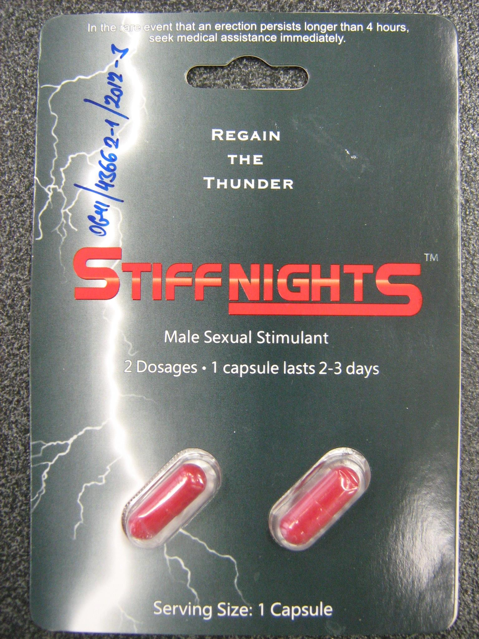 Image of the illigal product: Stiff Nights