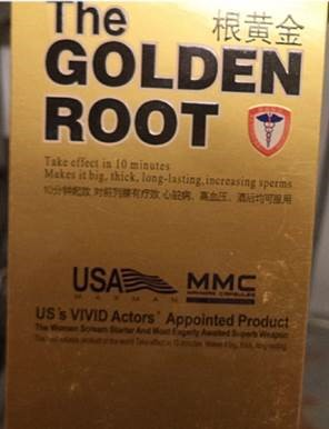 Image of the illigal product: The Golden Root