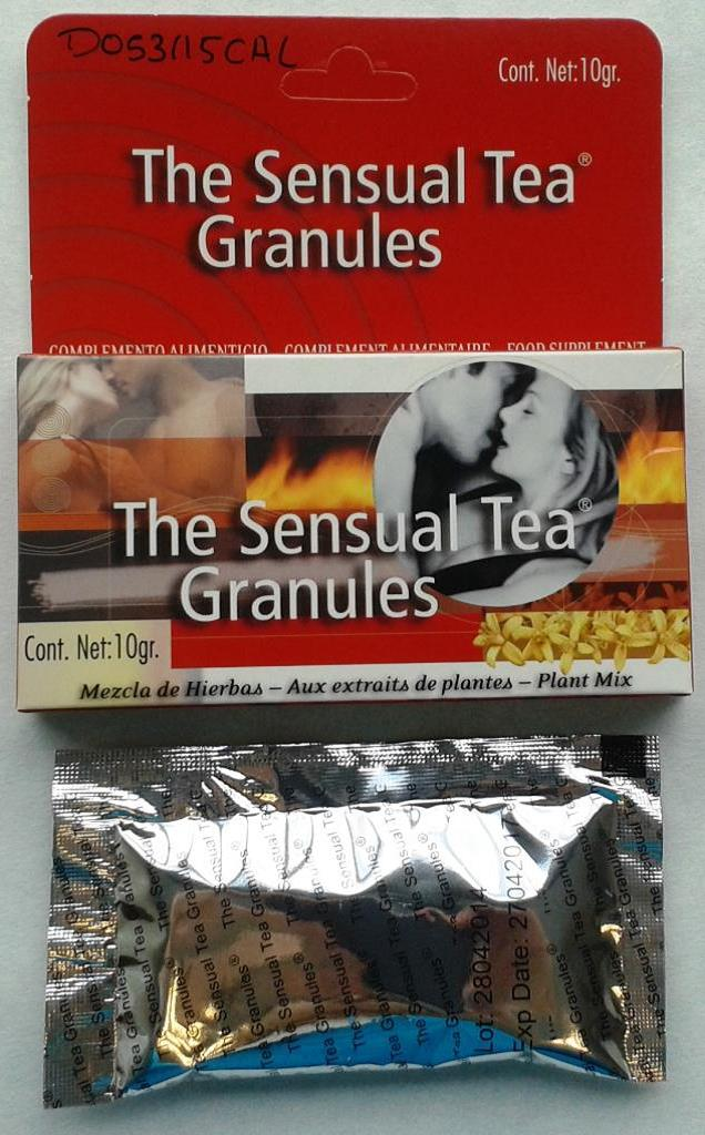 Image of the illigal product: The Sensual Tea Granules