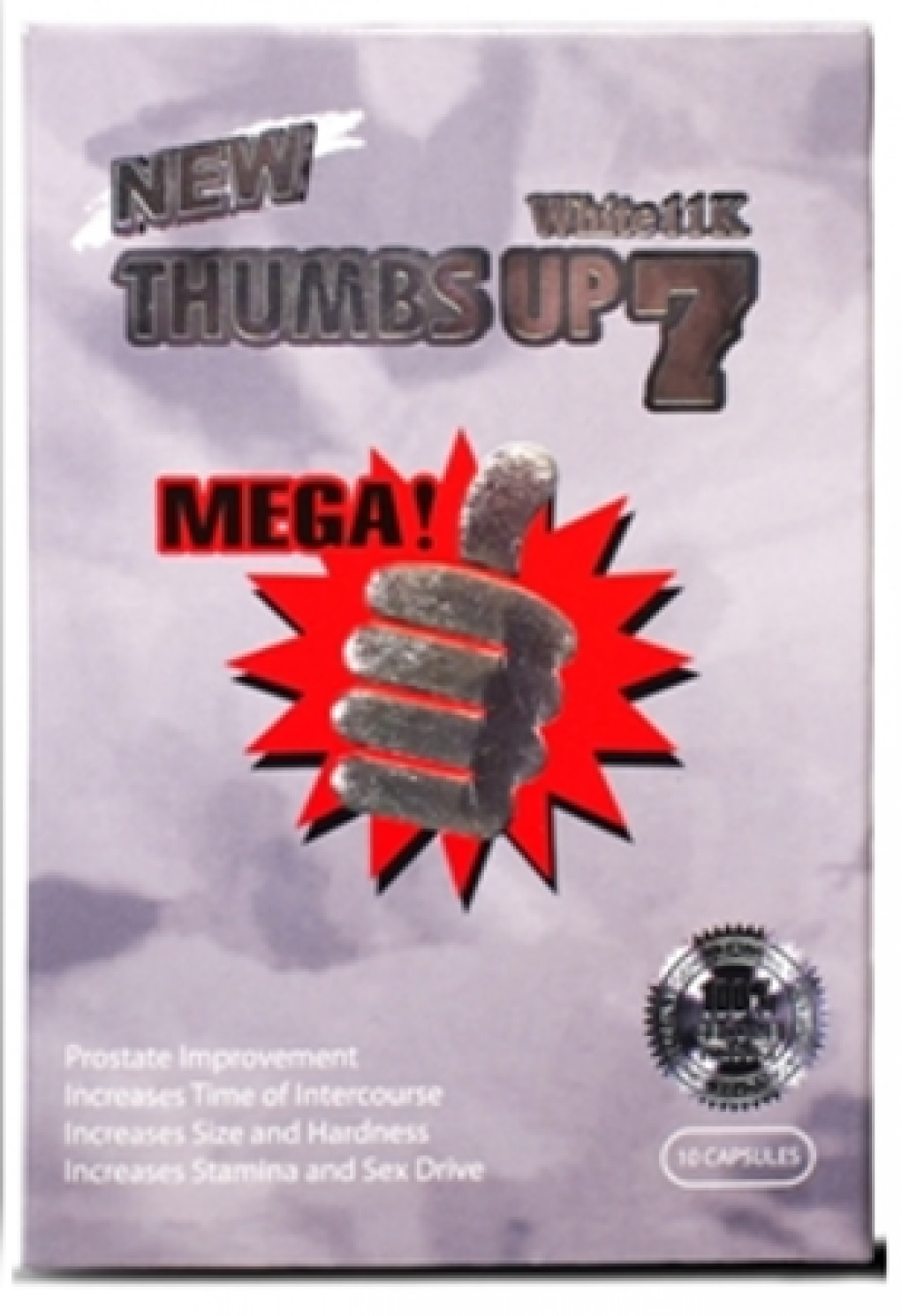 Image of the illigal product: Thumbs Up 7 (White)