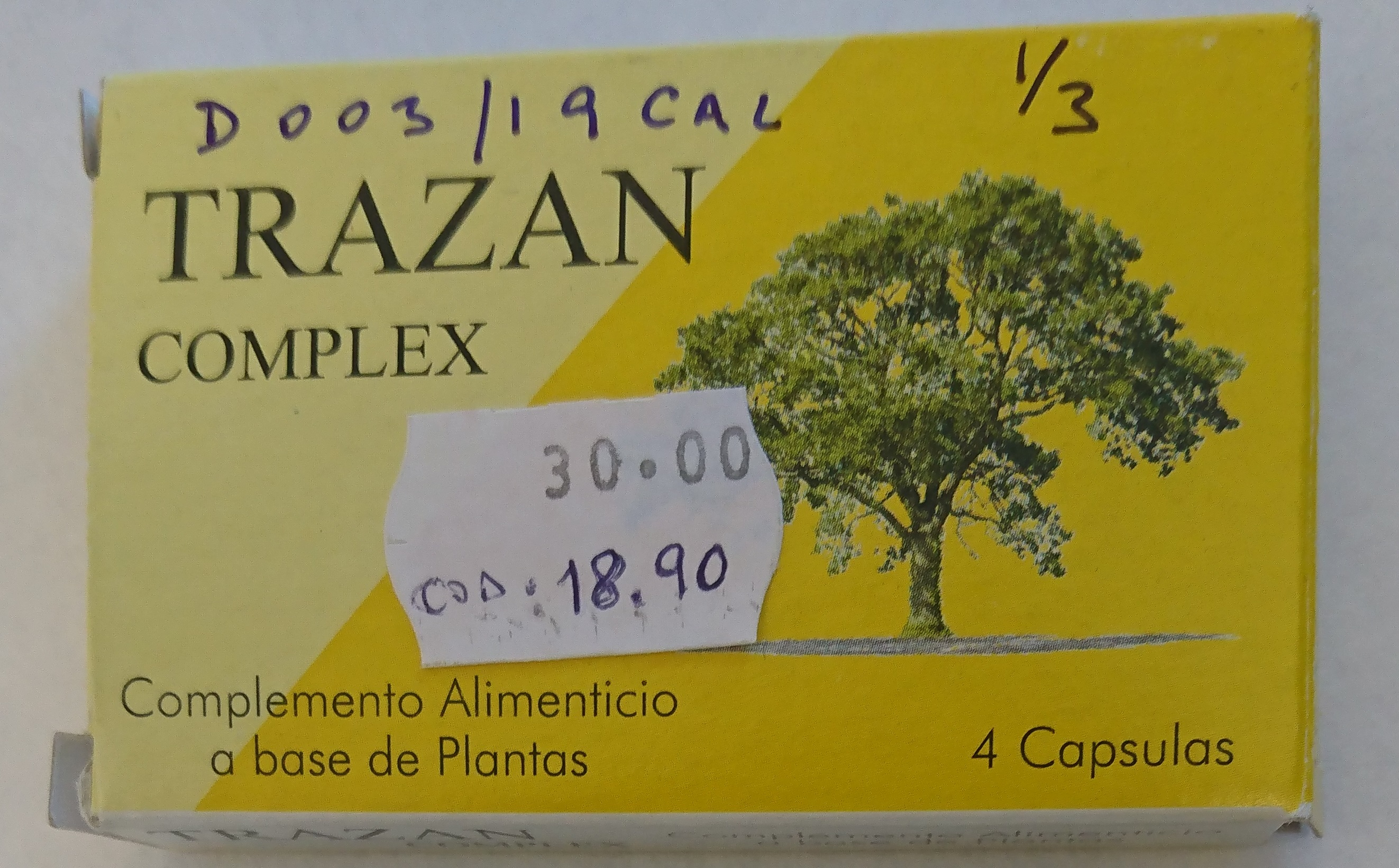 Image of the illigal product: Trazan Complex