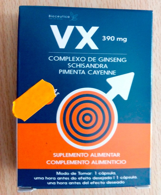 Image of the illigal product: VX Capsules