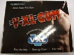 Image of the illigal product: V-XL Gum Chewable tablets