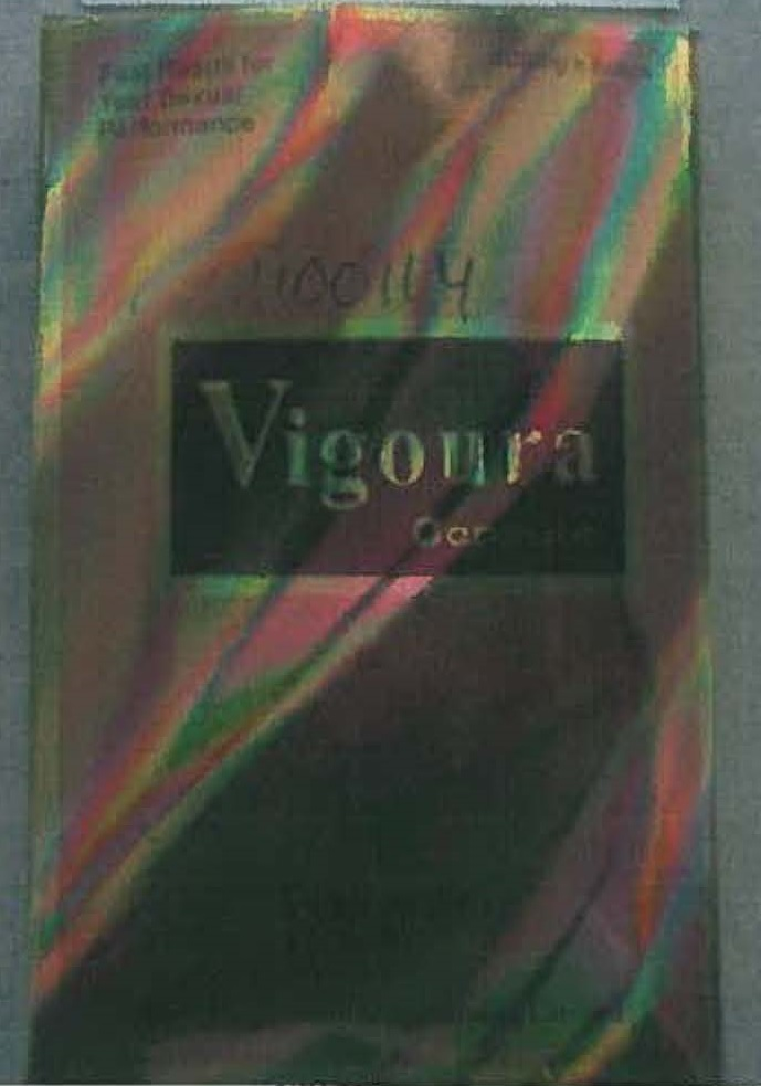 Image of the illigal product: Vigoura Capsules