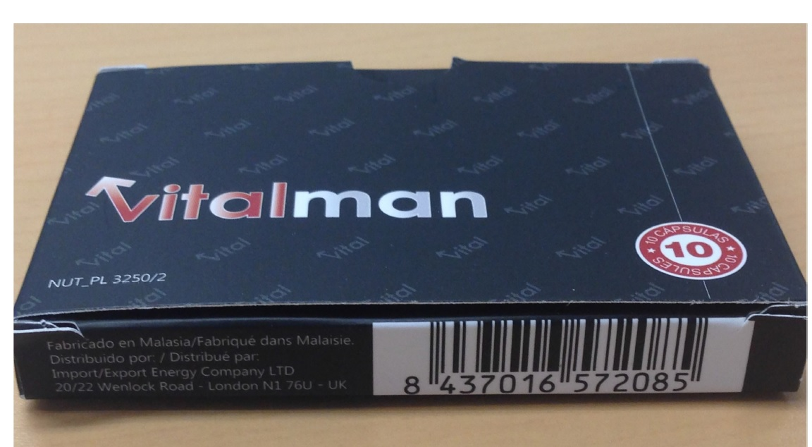 Image of the illigal product: Vitalman