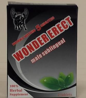 Image of the illigal product: Wonder Erect