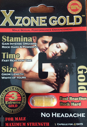 Image of the illigal product: Xzone Gold