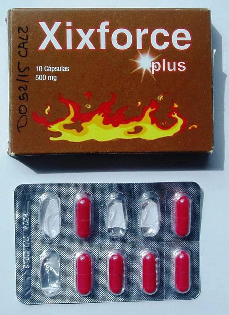 Image of the illigal product: Xixforce Plus